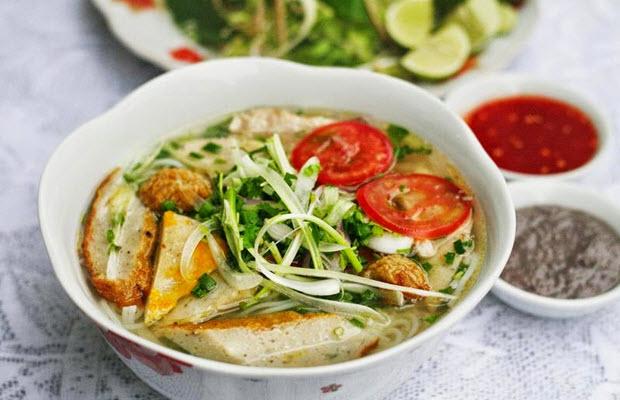 Thành phẩm bún cá Nha Trang